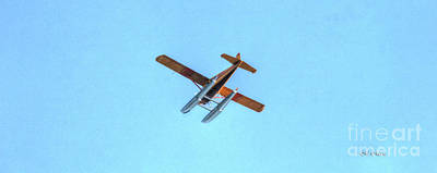 Float Plane Fly Over Pacific Northwest Print by Tap On Photo