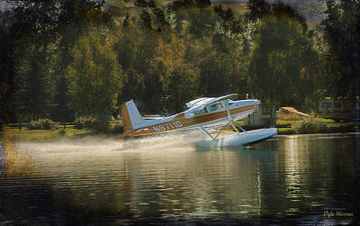 Photograph - Float Plane Takeoff by Dyle   Warren