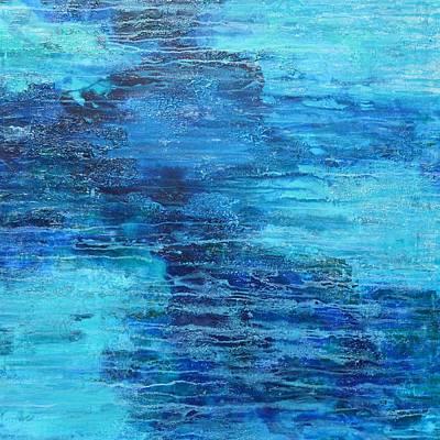 Painting - Floating by Elizabeth Langreiter
