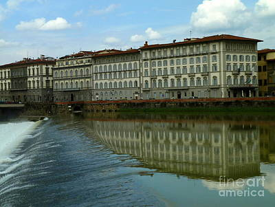 Anna Duyunova Art Photograph - Floating Florence by Anna and Sergey