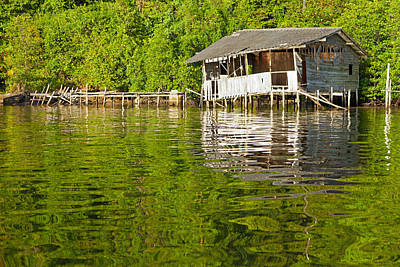 Photograph - Floating Hut by Alexey Stiop