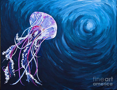 Painting - Floating by Melissa Sherbon