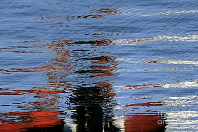 Photograph - Floating On Blue 16 by Wendy Wilton