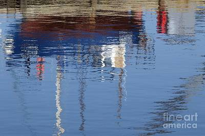 Photograph - Floating On Blue 21 by Wendy Wilton