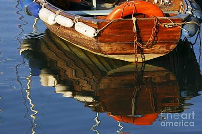 Photograph - Floating On Blue 25 by Wendy Wilton