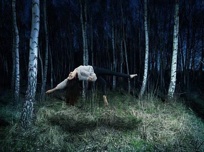 Flying Photograph - Floating Person by Henrik Sorensen