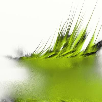 Outdoor Still Life Digital Art - Floating Plants by Len YewHeng