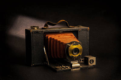 Photograph - Folding Brownie Model 3 by Peter Tellone