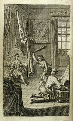 Architectural Elements Photograph - Flogging by British Library