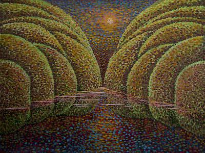 Painting - Flood by Siyavush Mammadov