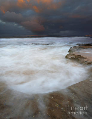 Knights Beach Photograph - Flooded By The Tides by Mike Dawson