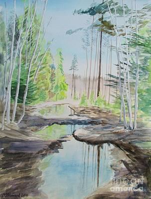 Flooded Forest Art Print