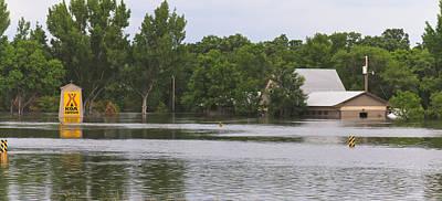 Souris Photograph - Flooded Koa  by Wayne Vedvig
