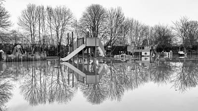 Flooded Playground Original by Vinicios De Moura