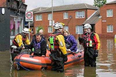 Floods Photograph - Flooding by Ashley Cooper