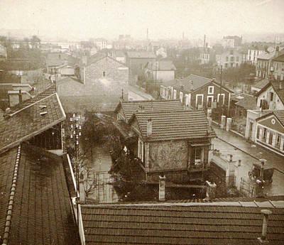 Flooding Paris Suburbs In 1910, France Art Print by Artokoloro