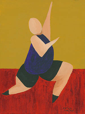 Painting - Floor Dancer 6 by Darice Machel McGuire