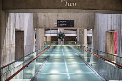 Floor Two Renaisannce Center In Detroit  Art Print