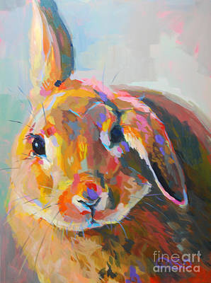 Kelly Painting - Flopsy by Kimberly Santini