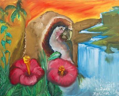 Latin Painting - Flor De Maga by Luis Velez