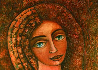 Flora Closer Art Print by Madalena Lobao-Tello