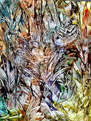 Flora Art Print by Danya Hammoudi
