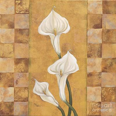 White Flowers Painting - Flora Del Rey II by Paul Brent