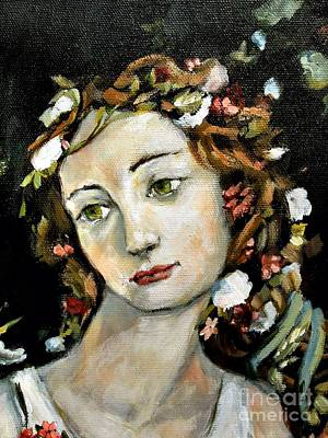 Flora Detail Art Print by Carrie Joy Byrnes
