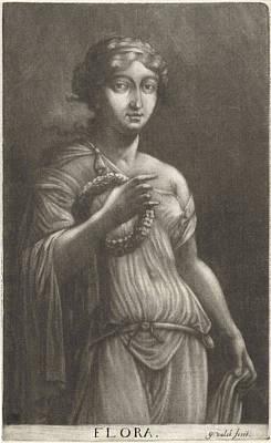 Flora, Gerard Valck Art Print