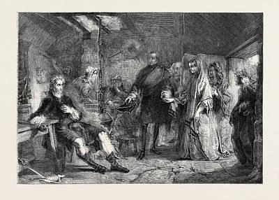 Flora Macdonald Introduced To Prince Charles Edward Art Print