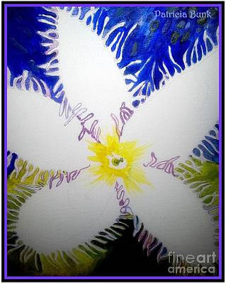 Painting - Flora Of The Deep by Patricia Bunk