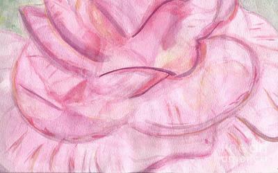Floribunda Painting - Florabundance by Elizabeth Briggs