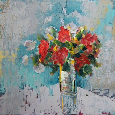 Natural Forces Painting - Floral 13 by Mahnoor Shah