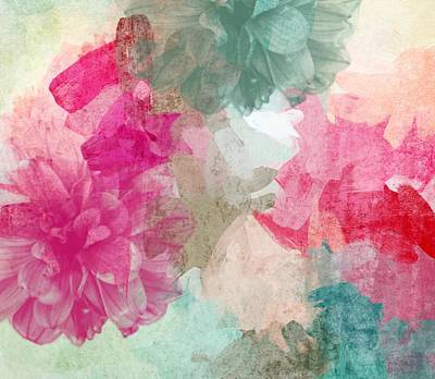 Irena Orlov Painting - Floral Abstract by Irena Orlov