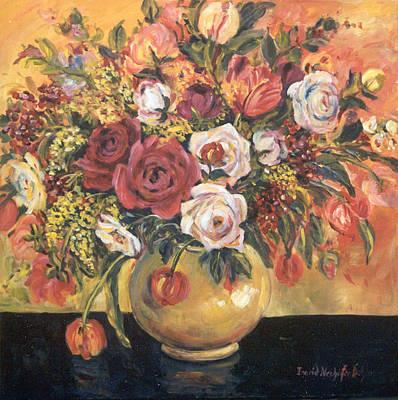Floral Arrangement Art Print by Alexandra Maria Ethlyn Cheshire