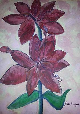 Art Print featuring the photograph Floral Beauty by Joetta Beauford