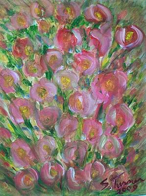 Painting - Floral Burst by Susan Turner Soulis