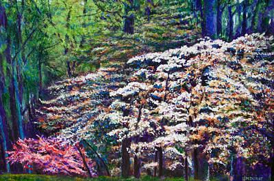 Painting - Floral Cathedral by Michael Durst