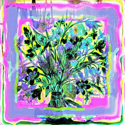 Floral Delight Art Print by Susan Leggett