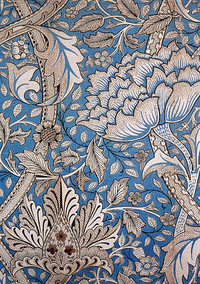 Tapestries - Textiles Tapestry - Textile - Floral Design by William Morris