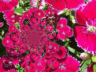 Digital Art - Floral Digi Manip 16 by Gene Cyr