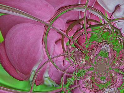 Digital Art - Floral Digi Manip 23 by Gene Cyr