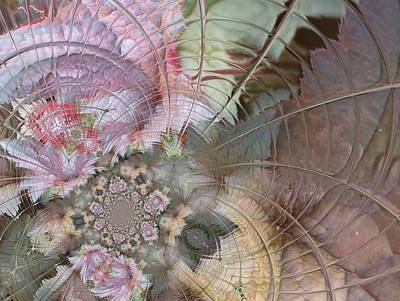 Digital Art - Floral Digi Manip 25 by Gene Cyr