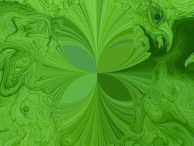 Digital Art - Floral Digi Manip 35 by Gene Cyr