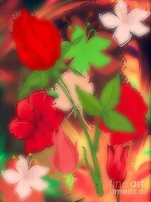 Floral Escapade  Original