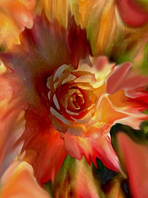 Painting - Floral Explosion by Dennis Buckman