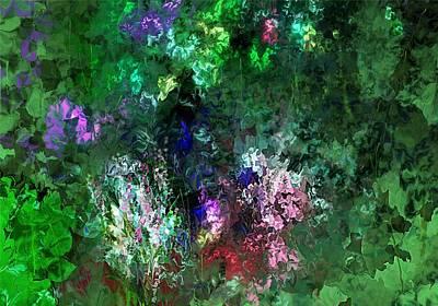 Digital Art - Floral Expression 050213 by David Lane