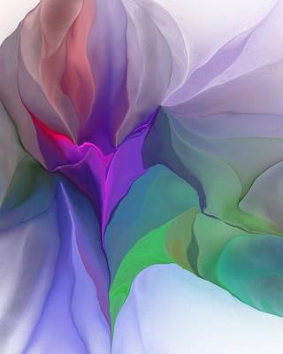 Digital Art - Floral Expressions 022615 by David Lane