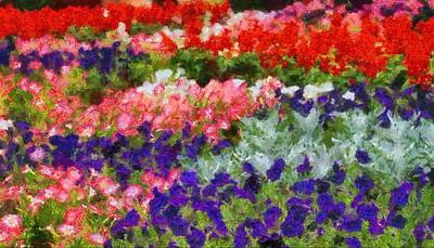 Floral Fantasy Art Print by Dan Sproul