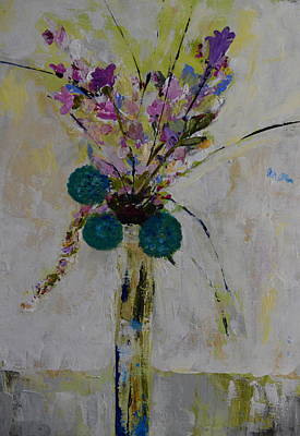 Painting - Floral Fantasy by Teresa Tilley